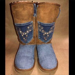 Ugg Australia Size 6 Tall Boot Chestnut 5815
